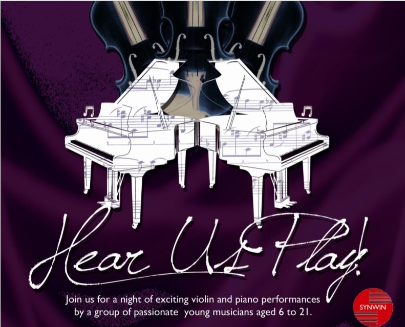 Concert Event: Hear Us Play Poster
